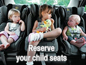 Varna taxis child seats